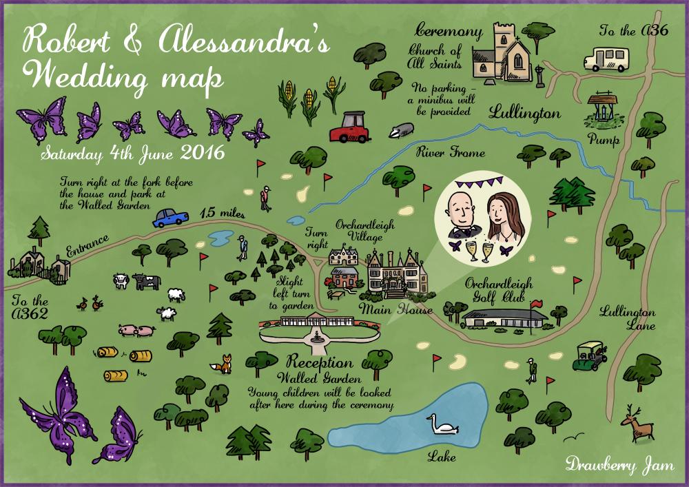 Wedding map 2
