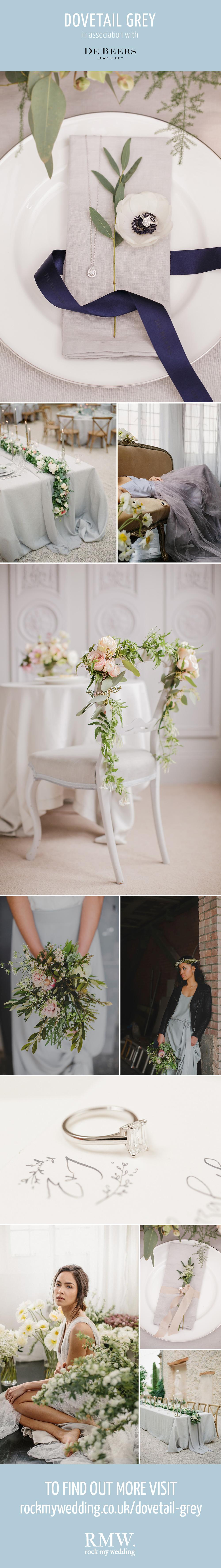 Dovetail Grey Wedding Inspiration