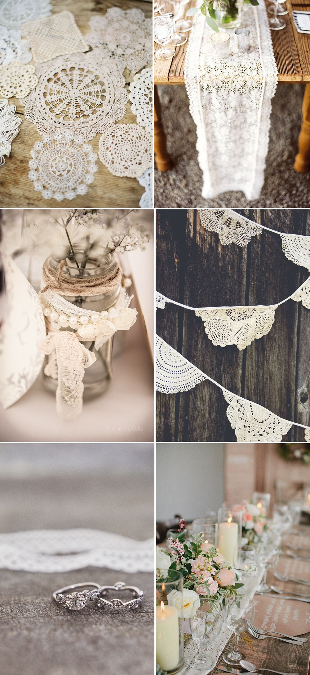 Lace Decor For Your Wedding Day