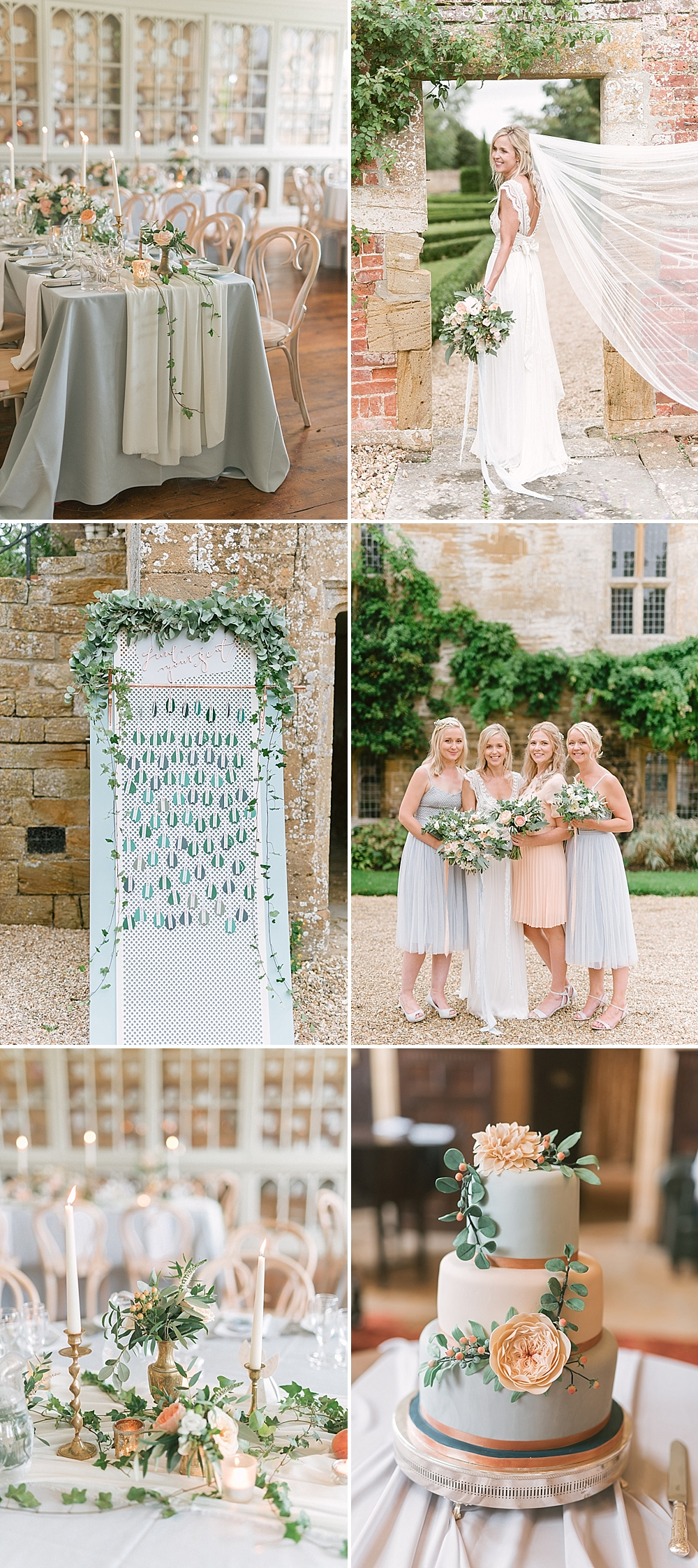 Peach Wedding at Brympton House by Emma Pilkington Photography