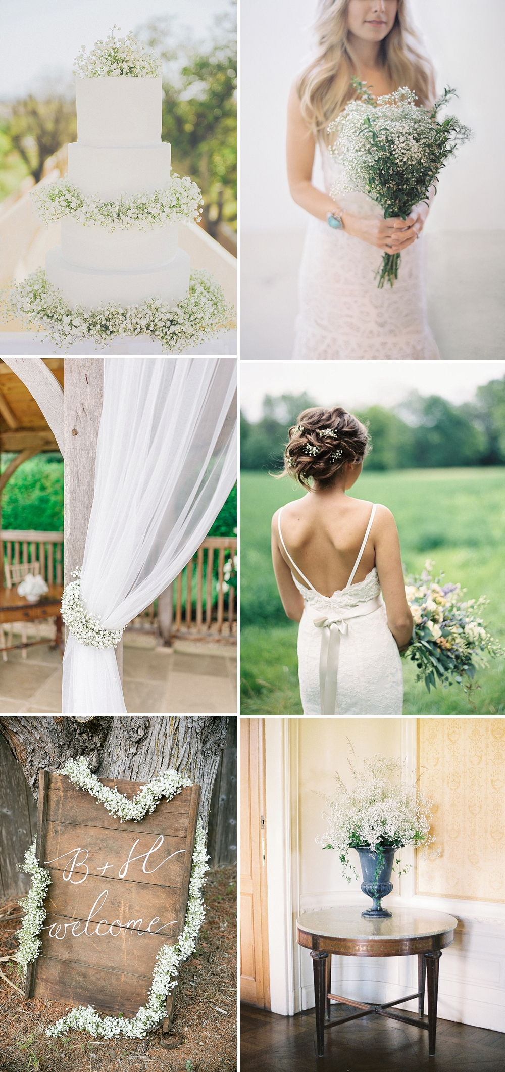 Gypsophila Wedding Inspiration