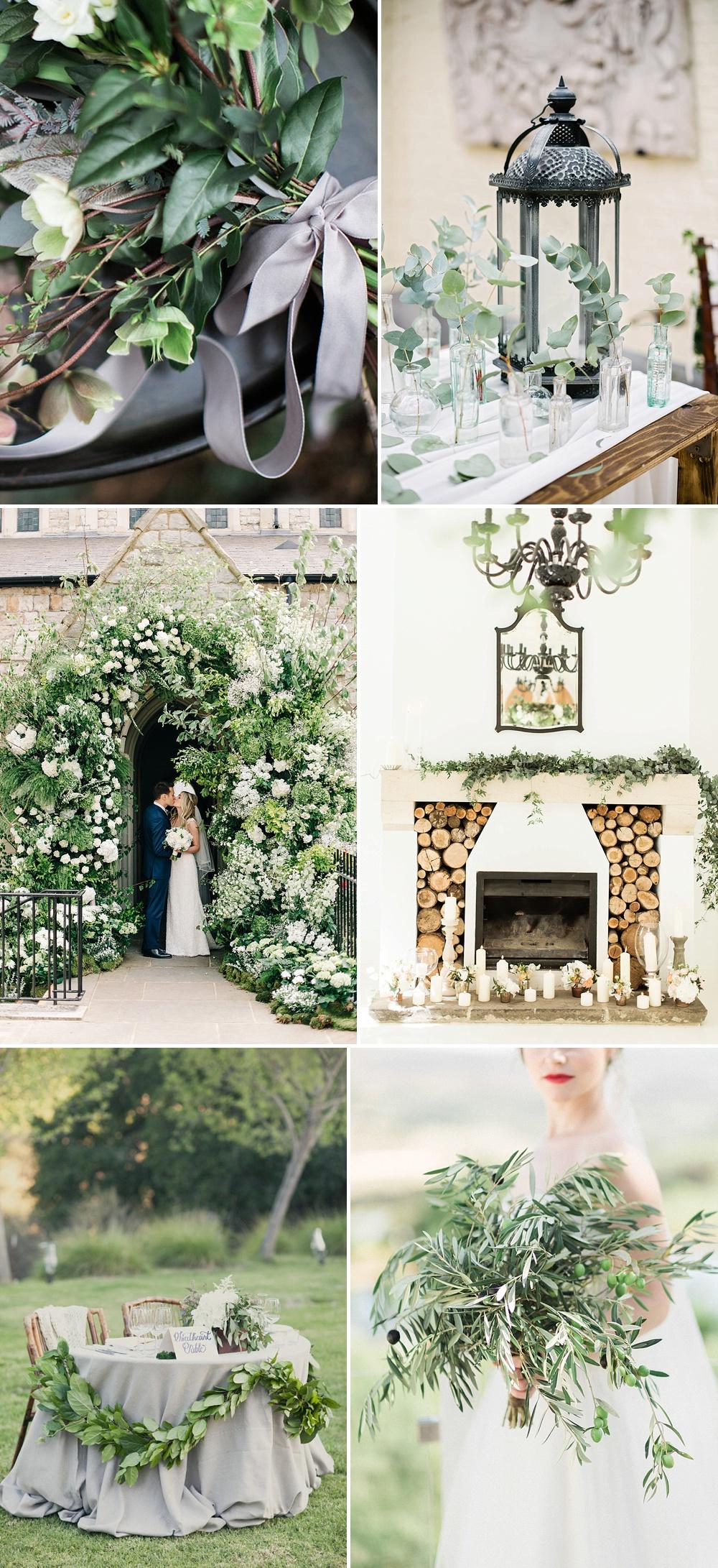 Greenery Wedding Decor Inspiration