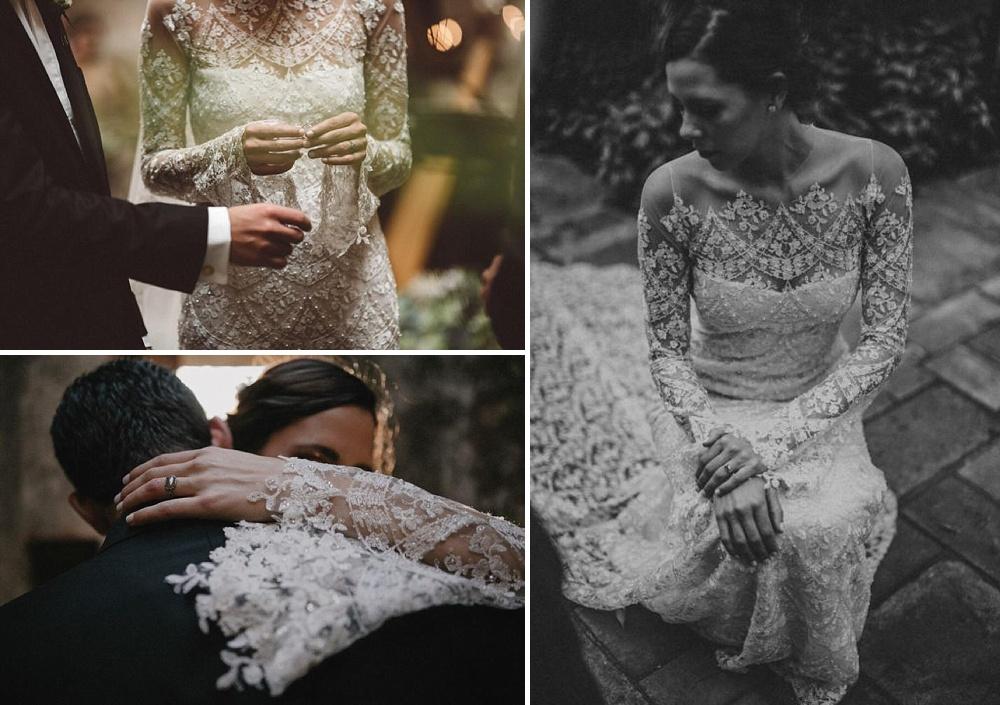 Bridal Trends for 2017 | Subtle Sequin Detailing | Wedding Dress by Francesca Miranda