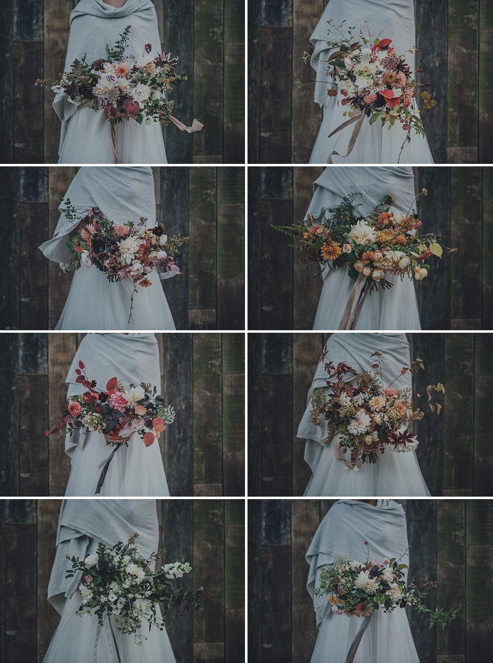 Wedding Bouquets For Autumn // Wedding Bouquets For Fall