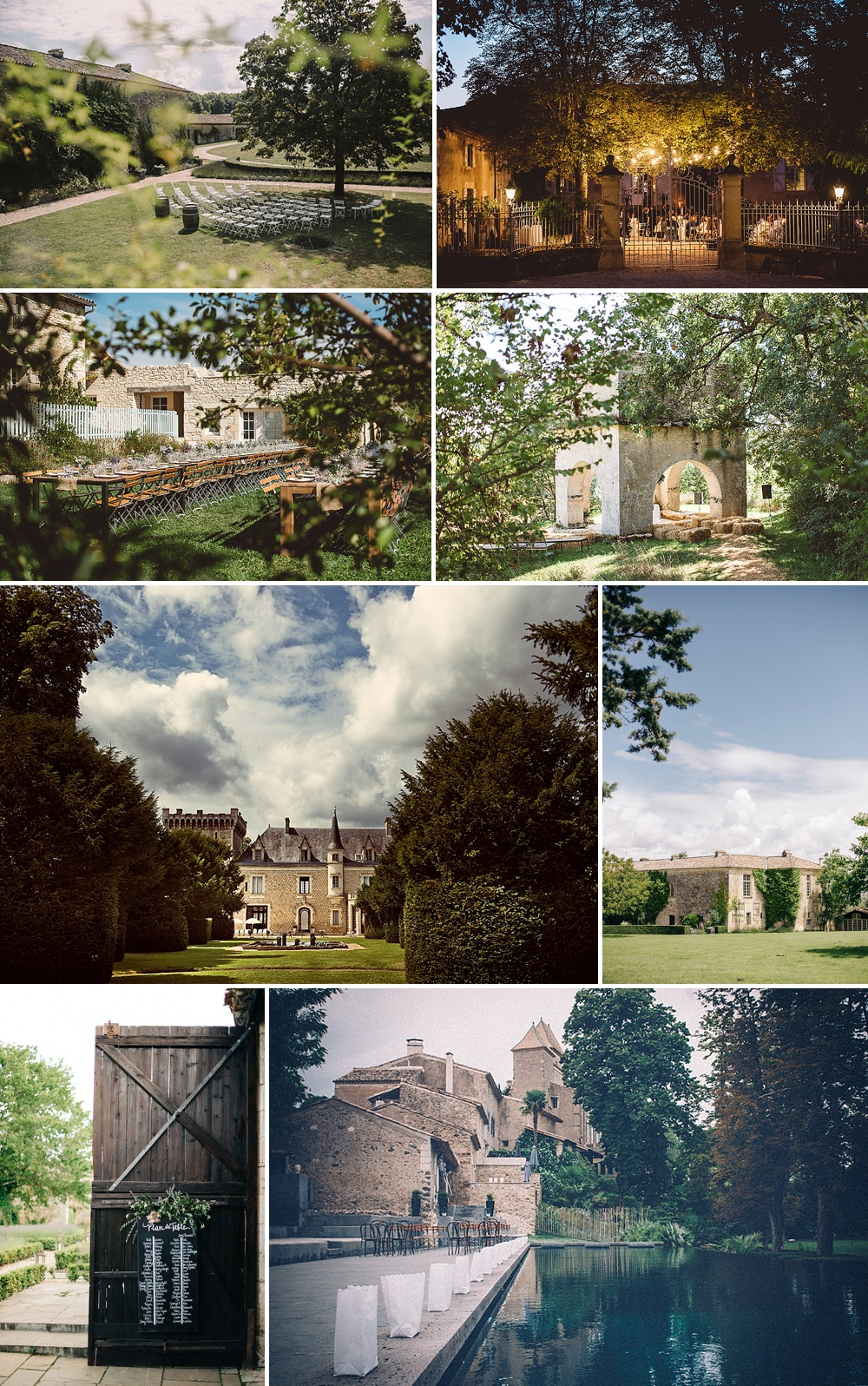 Beautiful French Wedding Venues // The List