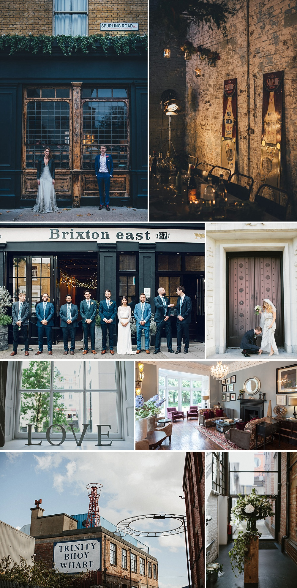 City Wedding Venues // The List