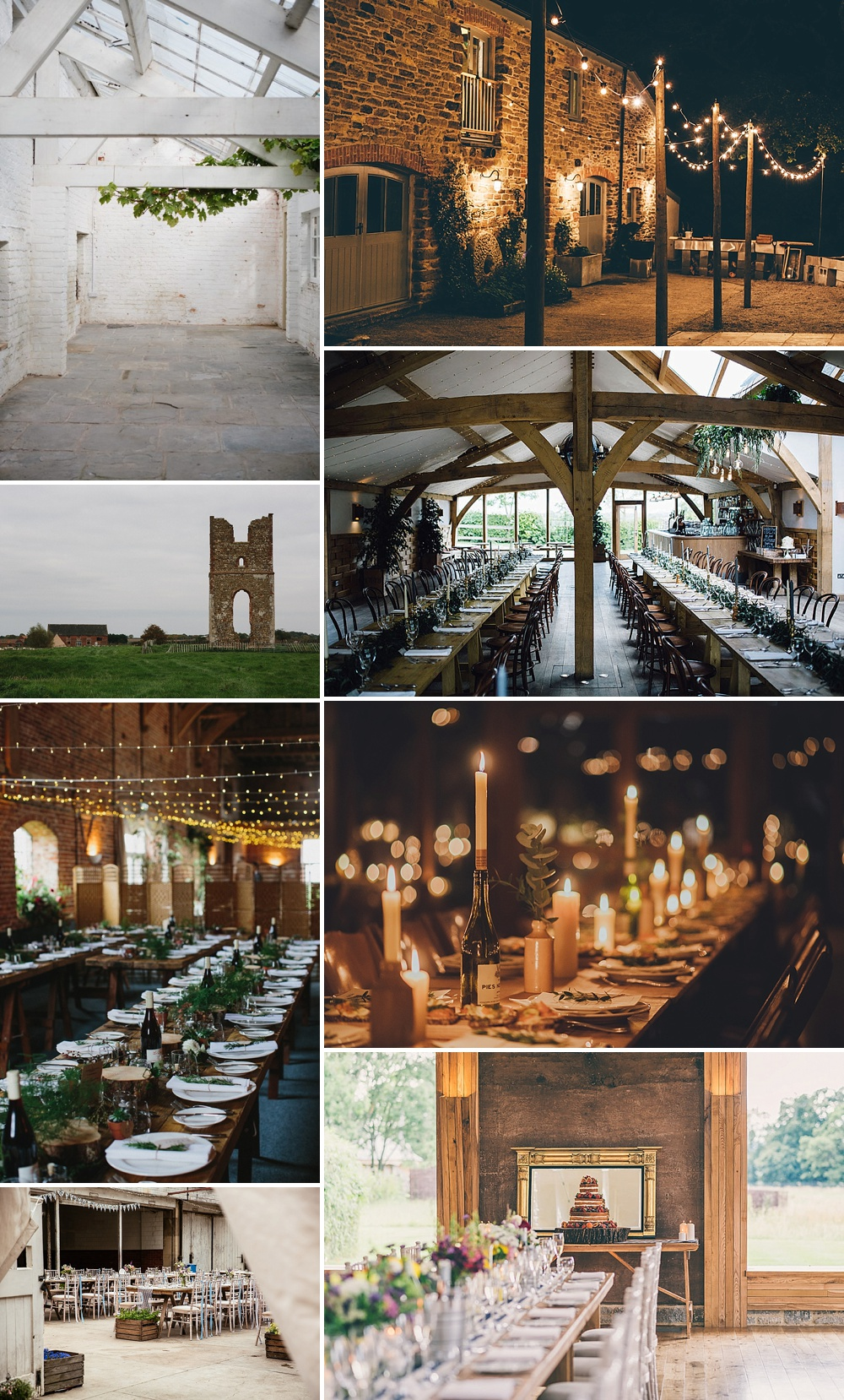 Rustic Wedding Venues // The List