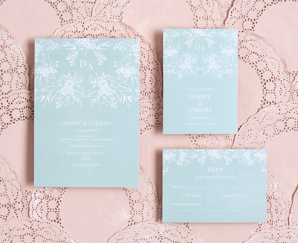 Spring Lace Suite // BerinMade