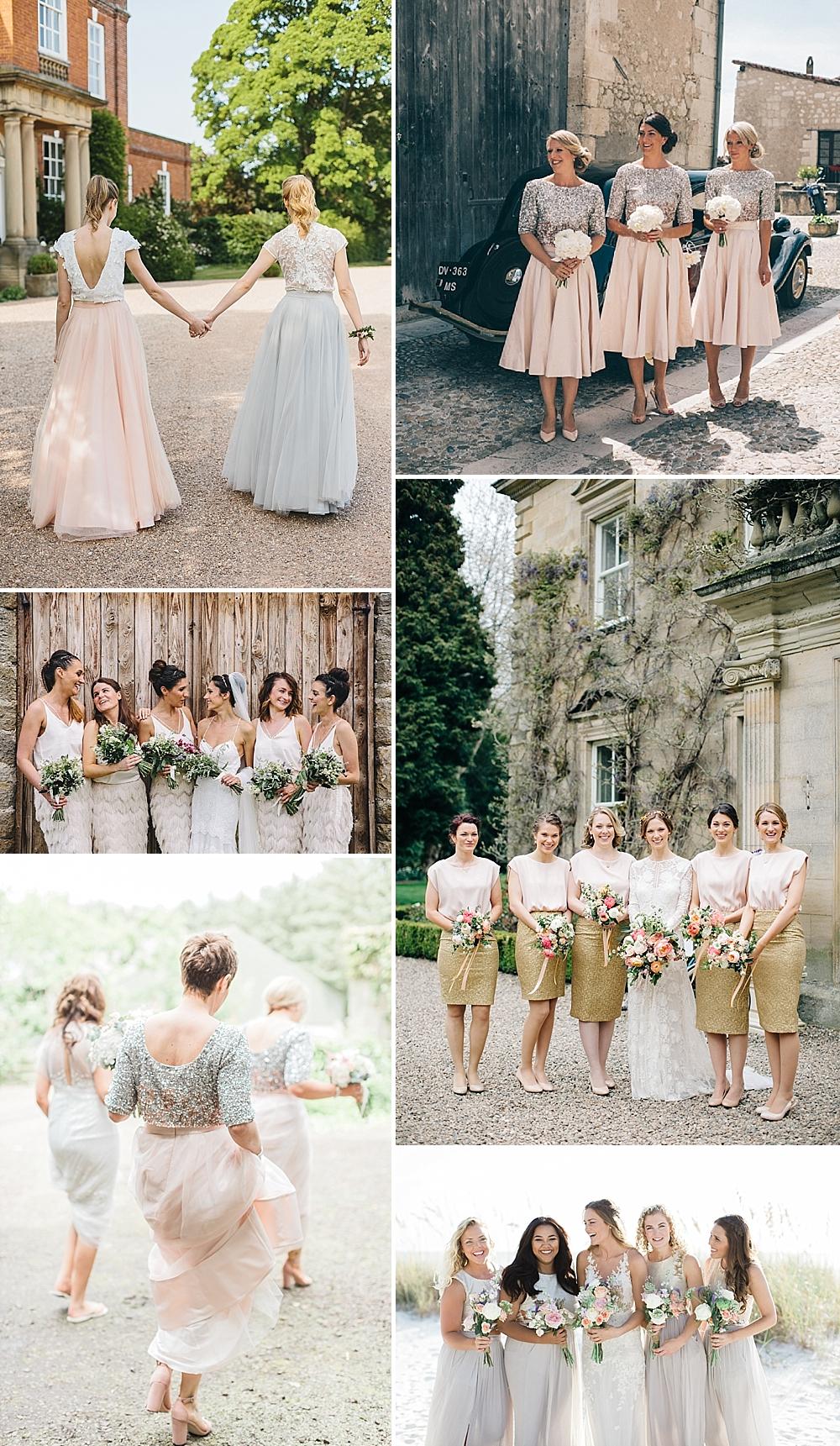 Bridesmaids Separates Inspiration