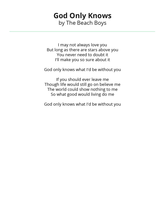 上帝知道他们在海滩上