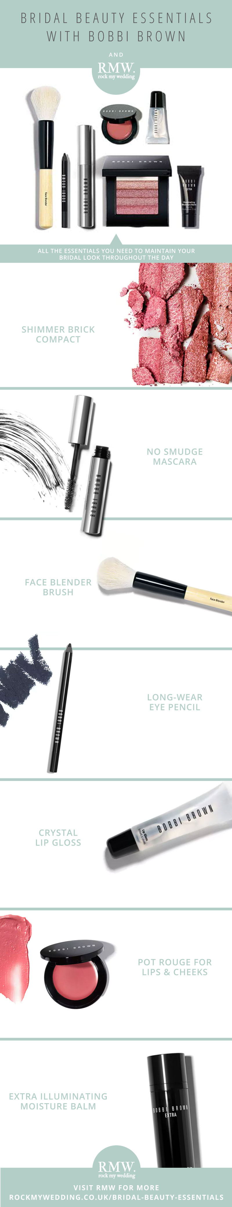 Bridal Make Up Essentials From Bobbi Brown // Natural Bridal Make Up // Doing Your Own Wedding Make Up