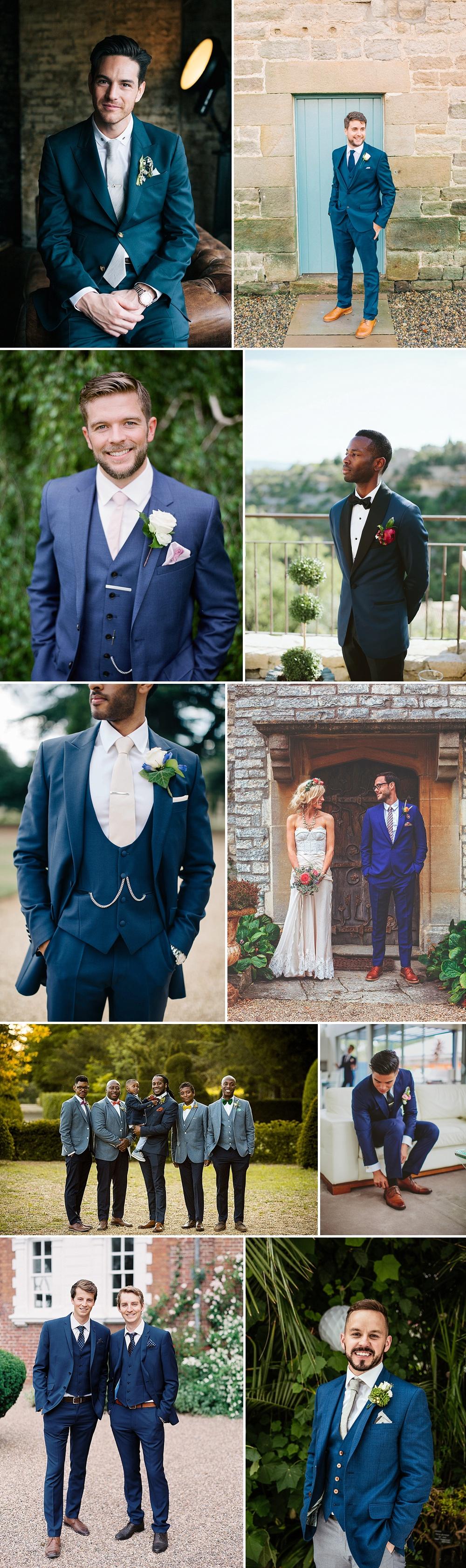 Groom Wearing Royal Blue For Wedding | Groom Fashion Inspiration