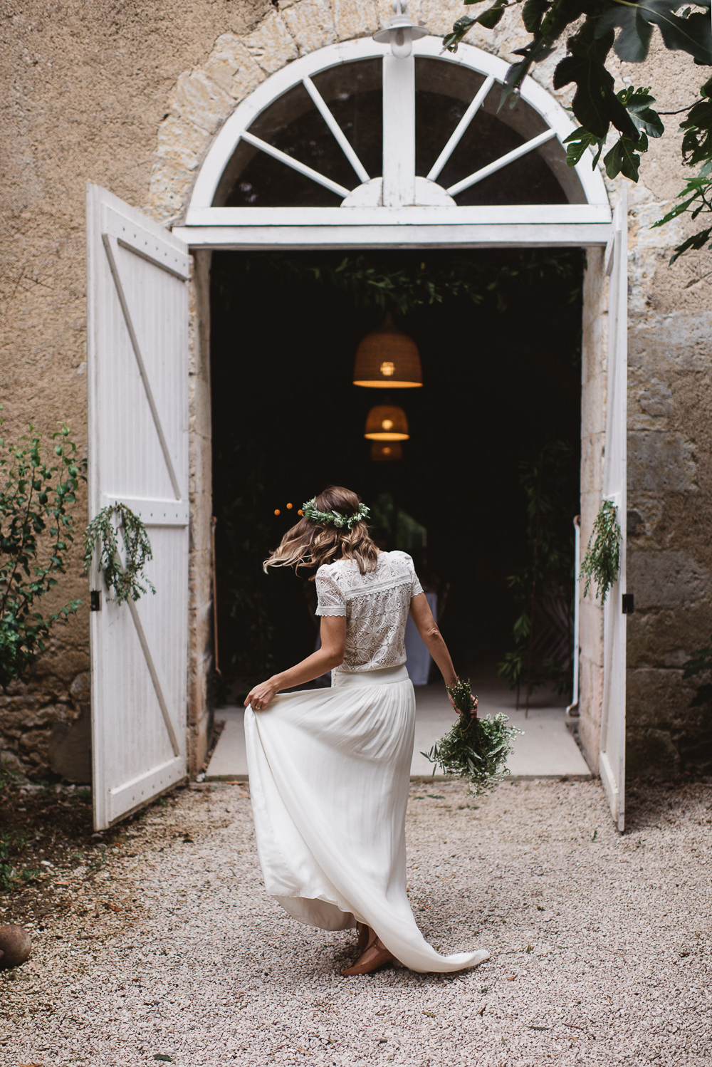 Rustic Destination Wedding In France With Natural Styling