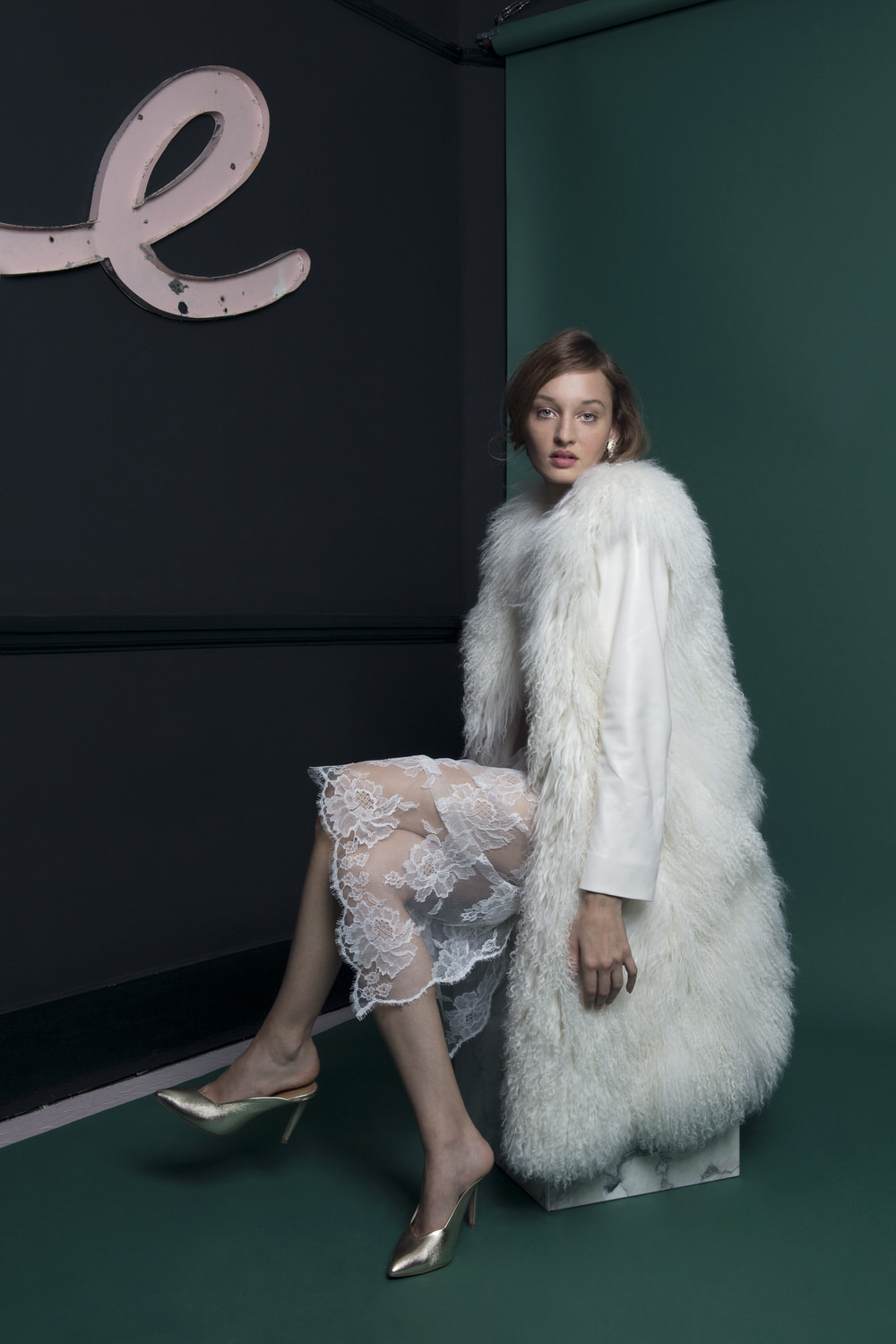 Bridal Accessories The Shadow Coat By Halfpenny London