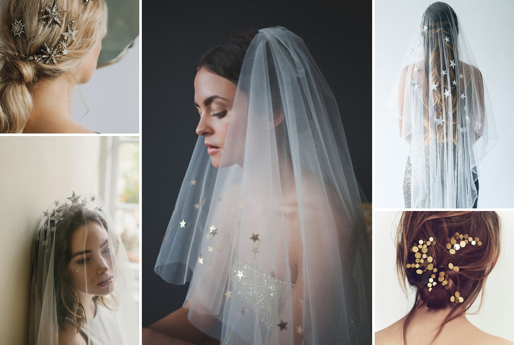 Celestial Inspired Head Pieces For Brides