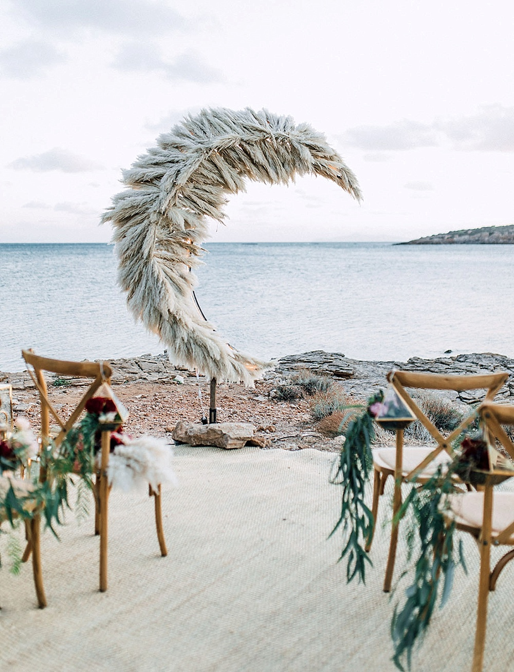 Moon Altar For Waterside Wedding By The 12 Events