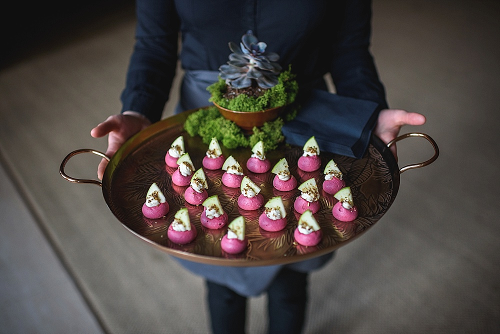 Canapes From Jacaranda // Image by Guy Collier