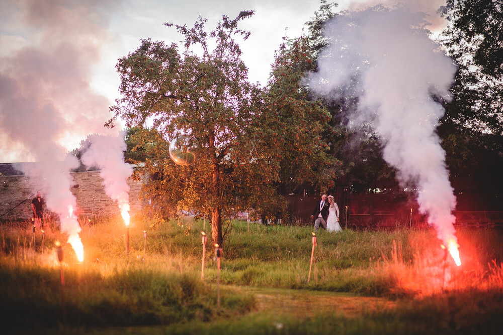 Flares For Wedding Reception