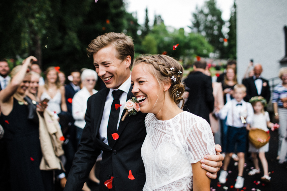 Woodland Wedding Norway // Image By Through The Woods We Ran