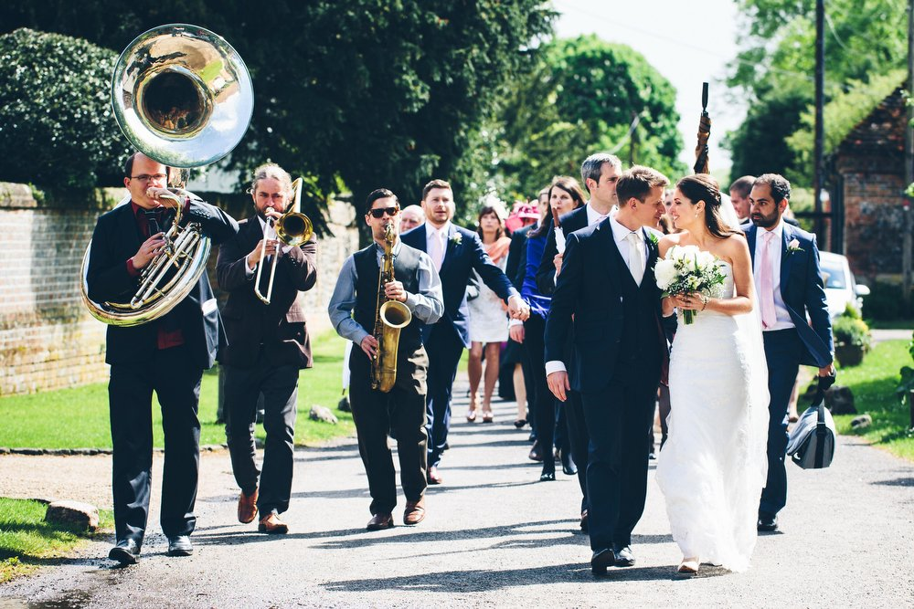 Brass Band At Wedding // Image By Mister Phill