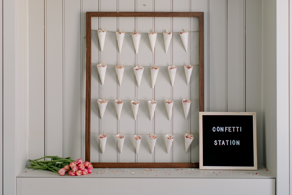DIY Confetti Cone Station Tutorial for Under £25!