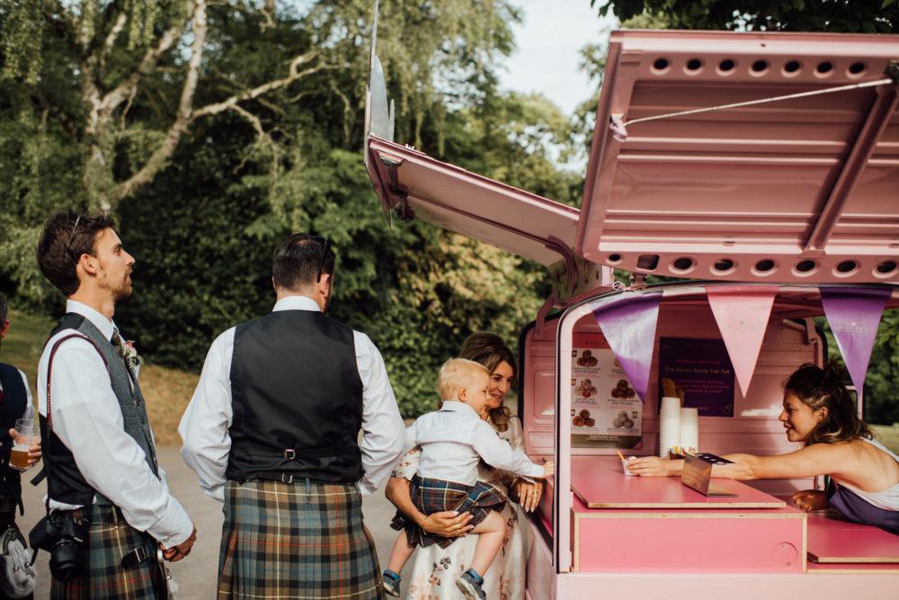 Booja Booja Ice Cream Tuk Tuk for Weddings