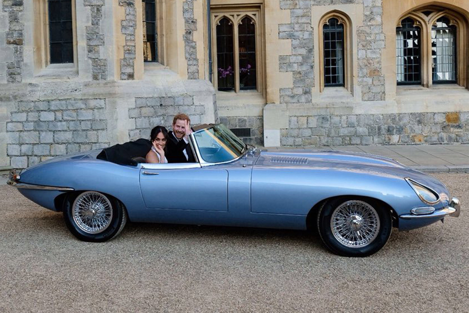 Harry and Meghan Wedding Car