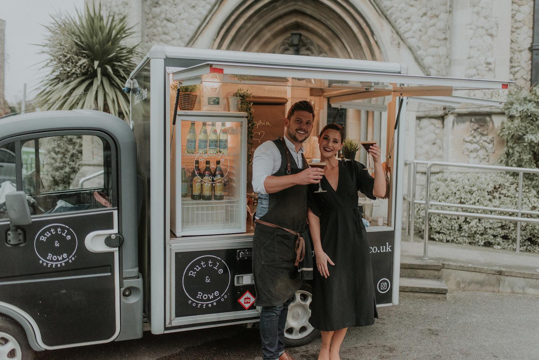 Espresso Martini Coffee Truck for Weddings