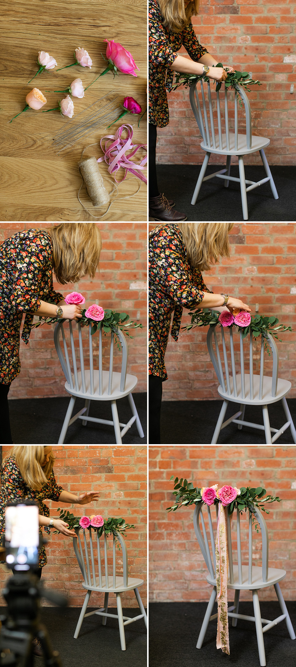 How to Make Wedding Chair Decorations